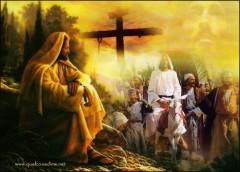 Domenica delle Palme 2012,Domenica delle Palme, Passione del signore, Gesù entra trionfante a Gerusalemme, Vangelo di Mc 14,1-15,47; Mc 15,1-39,