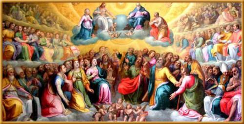 tutti i santi,preghiera per i santi,1 novembre,santità,festa di tutti i santi,santi.