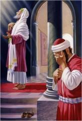 immagine il pubblicano e il fariseo