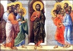 """Lc 9,51-62, vangelo della domenica, XII domenica del tempo ordinario,la parola del signore,gesù disse """"seguimi"""",annuncia il regno di Dio."""
