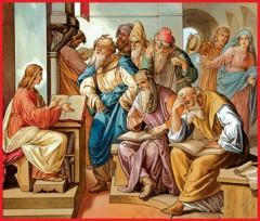luca 4,21-30, vangelo di domenica 03/02/2013, Gesù nella sinagoga, vangelo di  luca, medico cura te stesso, parola del signore
