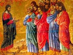 IX domenica del tempo ordiario, anno C, vangelo della domenica 07/07/2013, gesù manda gli apostoli, annunciare il vangelo, Vangelo di Luca (Lc 10,1-9):