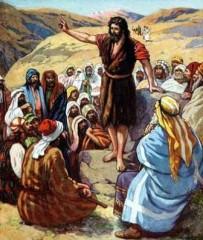 vangelo della seconda domenica di avvento,vangelo di domenica 4 dicembre,giovanni battista,preparare la via al signore,battesimo acqua,battesimo in spirito
