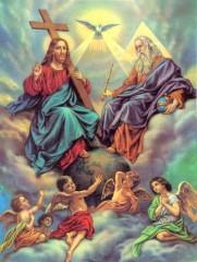 La Santissima Trinità, vangelo della domenica 19-06-2011, vangelo di Giovanni 3,16-18, tre persone unite dall'amore:il Padre, il Figlio e lo Spirito Santo, Commento sul vangelo della Santissima Trinità, Trinità