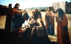 vangelo della domenica 08-06-2013,commento al vangelo,vangelo audio,gesù risuscita il figlio di nain,risurrezione,miracolo di gesù,gesù solleva le sofferenze e il dolore,vangelo di lc 7,11-17,misericordia del signore,alzati dice il signore.