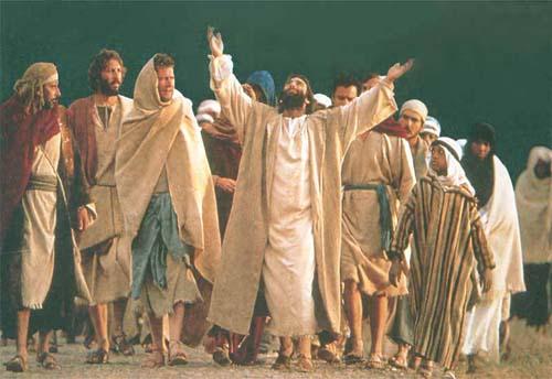JESUS ENVÍA DISCÍPULOS
